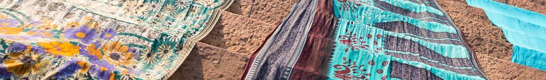Sari sur le ghat de Badami